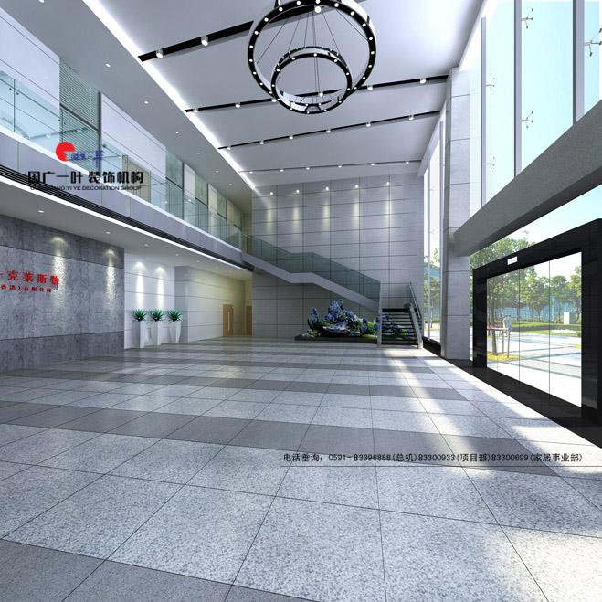 姆勒 克莱斯勒汽车有限公司办公楼 图片 国广一叶 室内设计作品 福州